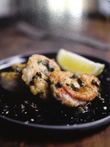 Calf's Sweetbreads with Capers (photo by Mike Cooper)