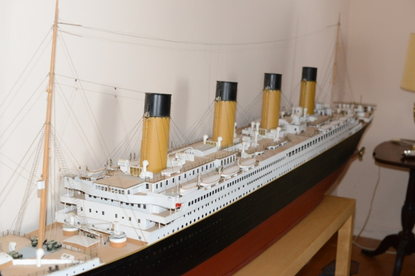The Titanic, big and with exquisite detail