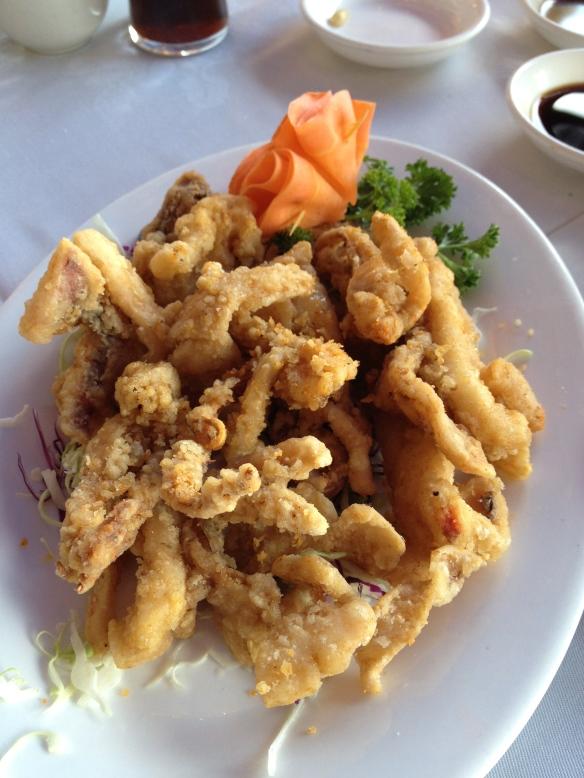 Squid, fried as I like it.