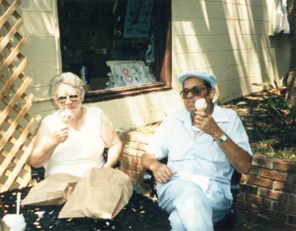 Ida and James, my maternal grandparents.