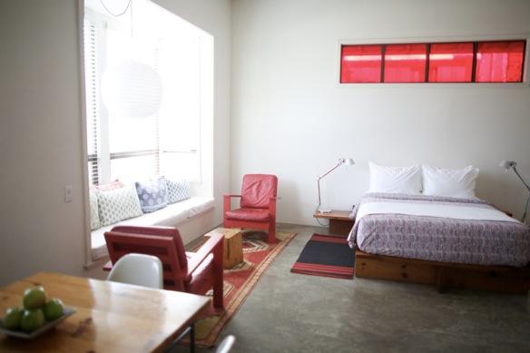 A room fit for barbecue aficionados. ( (Photo courtesy of Hotel San Jose)