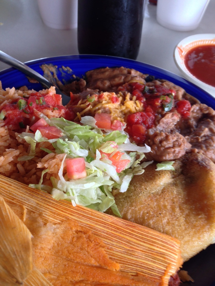 The best plate – and chile relleno – I have ever had in a Tex-Mex joint.